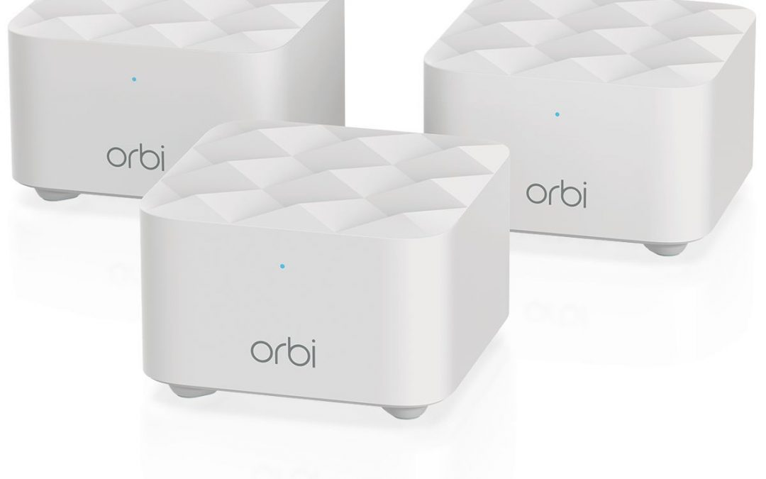 Netgear Launches New Orbi Mesh WiFi System