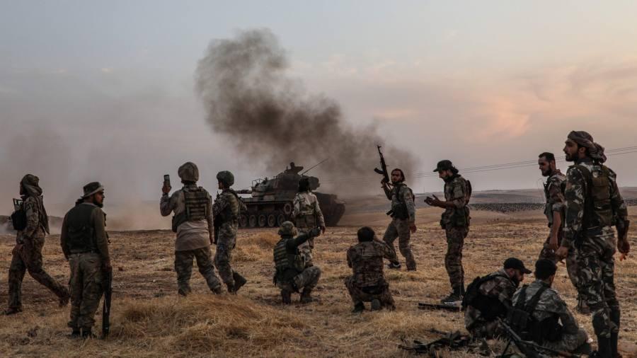 Russia calls Turkey's invasion of north Syria 'unacceptable'